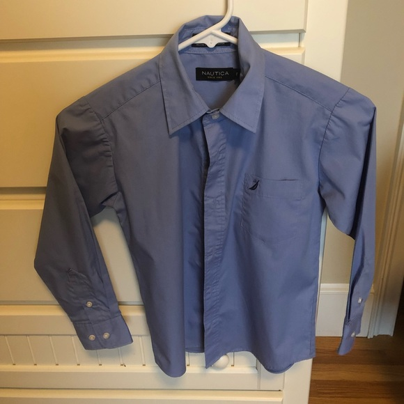 Nautica Other - Boys Nautica blue button down shirt size 8